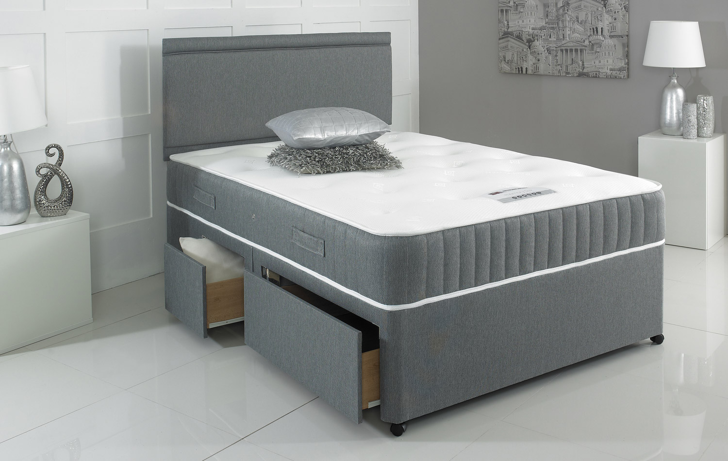 Customisable Divan Bed Base From Beds Are Uzzz Base Only
