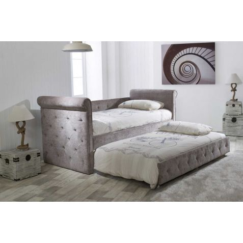 Beds Are Uzzz Zodiac Mink Fabric Guest Bed & Trundle