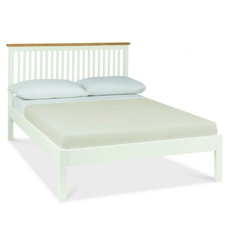 Bentley Designs Atlanta Two Tone Wood Bedstead Low Foot End