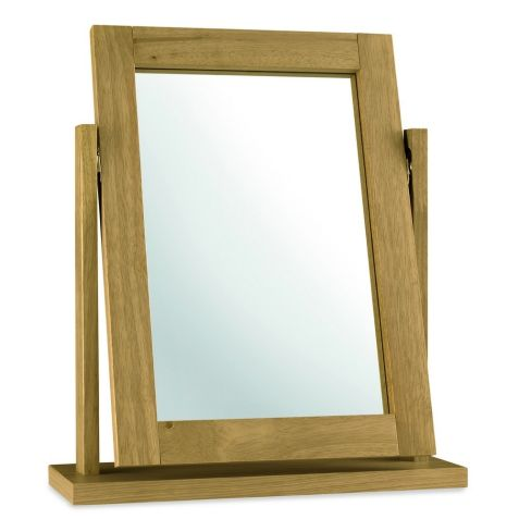 Bentley Design Atlanta Oak Vanity Mirror