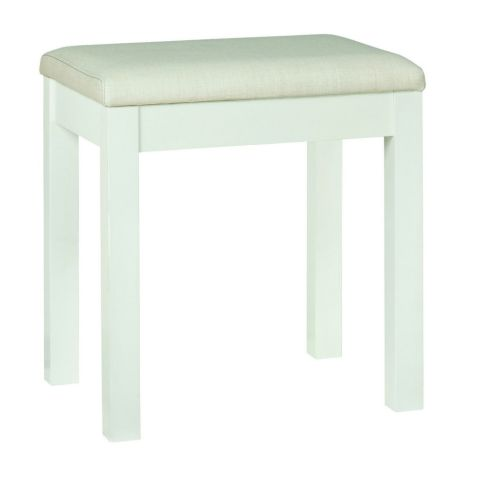 Bentley Design Atlanta White Stool