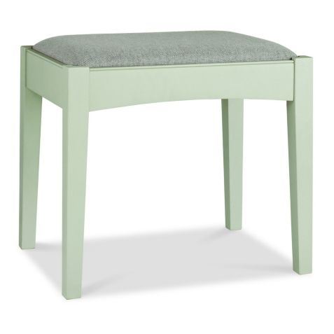 Bentley Design Hampstead Soft Grey & Pale Oak Stool
