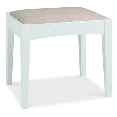 Bentley Design Hampstead White Stool