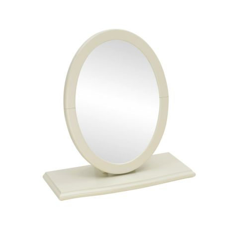 Bentley Design Montreux Antique White Vanity Mirror