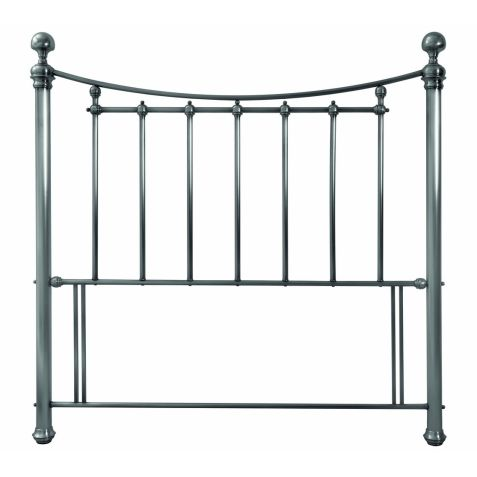 Bentley Designs Isabelle Antique Nickel Metal Headboard