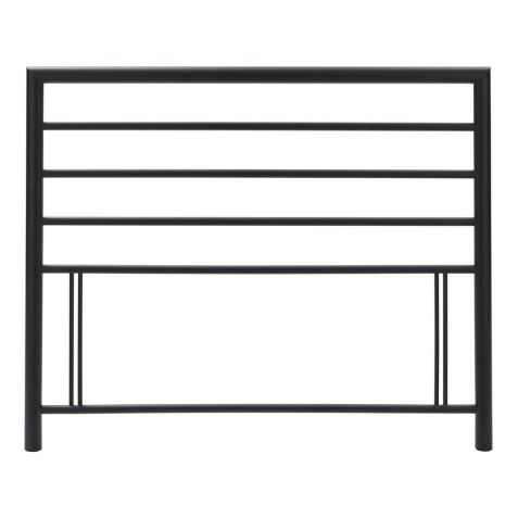 Bentley Designs Urban Matt Black Metal Headboard