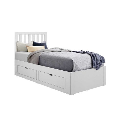 Birlea Appleby White Wood 2 Drawer Bedstead