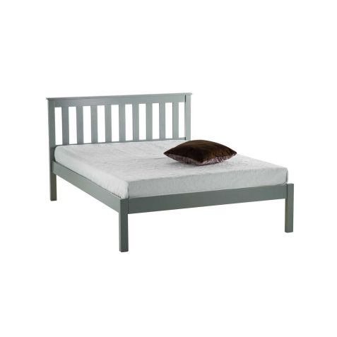 Birlea Denver Grey Wood Low End Bedstead