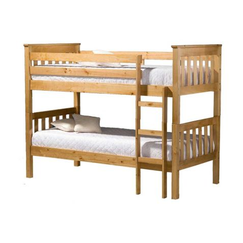 Birlea Portland Pine Wood Bunk Bed