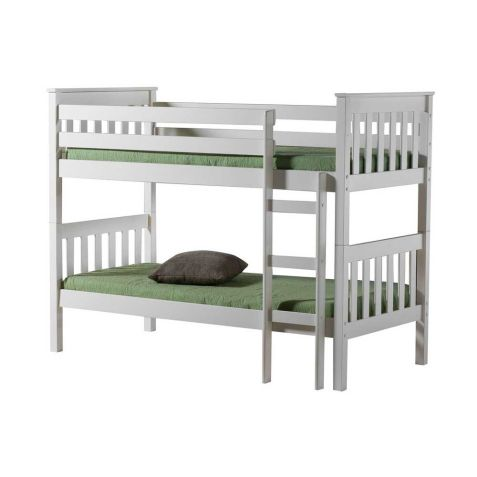 Birlea Portland White Wood Bunk Bed