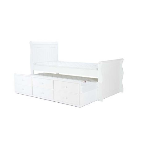 Birlea Verona White Wood Cabin Bed
