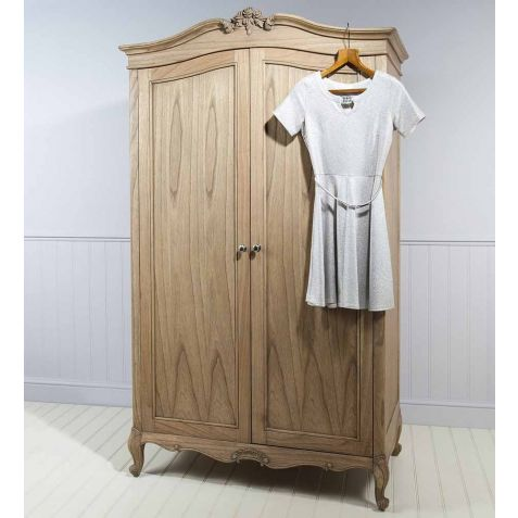 Frank Hudson Chic Weathered 2 Door Wardrobe