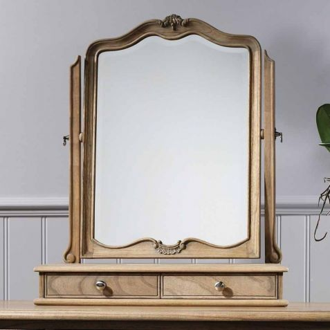 Frank Hudson Chic Weathered Dressing Table Mirror