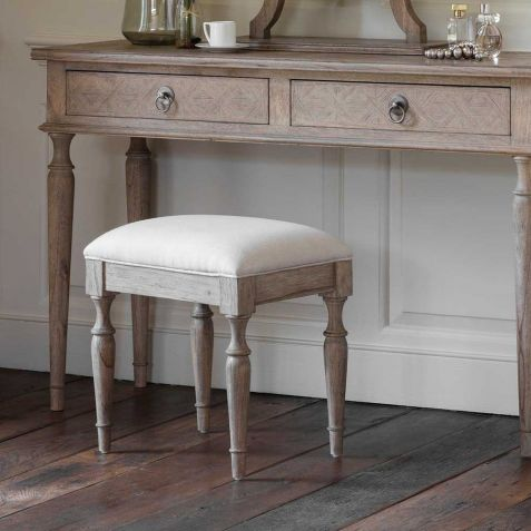 Frank Hudson Mustique Dressing Table Stool