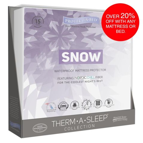 Protect A Bed Snow Mattress Protector