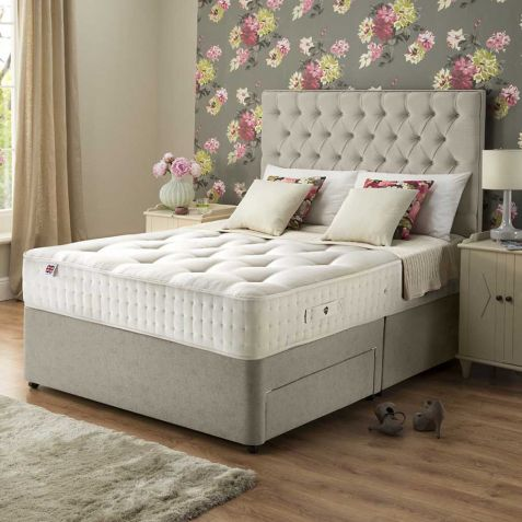 Rest Assured Boxgrove 1400 Natural Divan Set