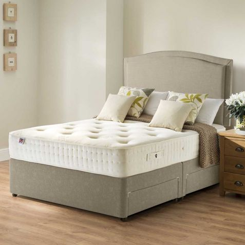 Rest Assured Harewood 800 Memory Divan Set