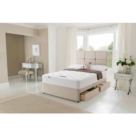 Silentnight Oslo Miracoil Memory Top Divan Set
