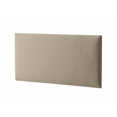 Silentnight Paris Headboard Sandstone Fabric