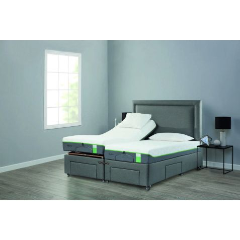 Tempur Moulton Adjustable Divan Set