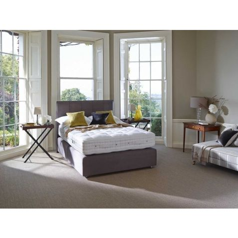 Vispring Kingsbridge Divan Set With Iris Headboard Dorchester Branch: Standard Kingsize - 150x200cm