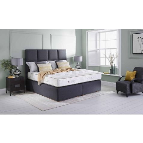 Vispring Sublime Superb Divan Set Maidenhead Branch: Standard Kingsize - 150x200cm