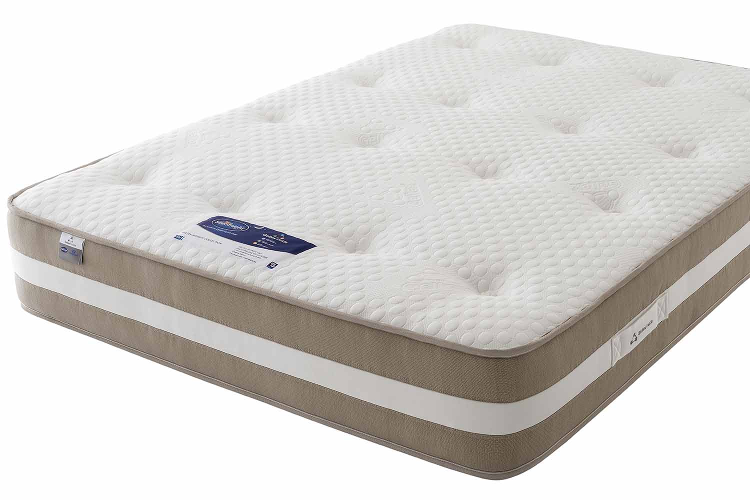 double beds mattress comforter dp comfort kitchen select amazon co essentials spring uk pocket silentnight home