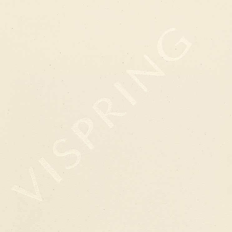 Vispring Logo Cotton 592 Cream