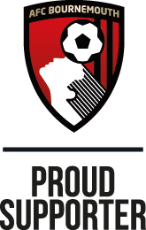 Proud supporter of AFC Bournemouth
